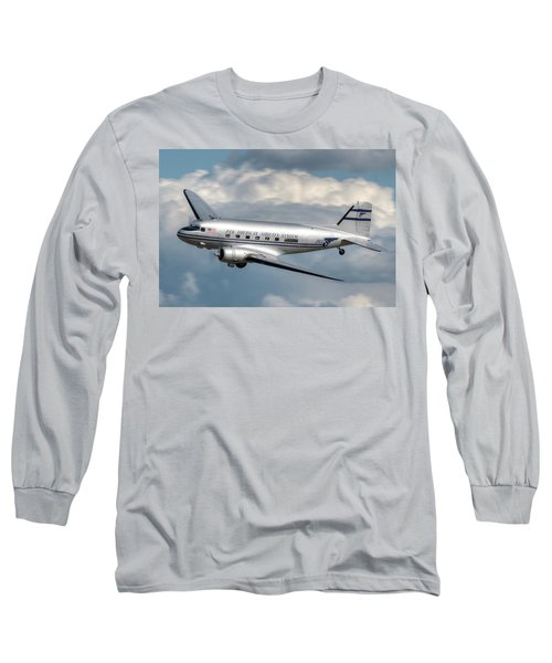 Dc-3 Long Sleeve T-Shirt by Jeff Cook
