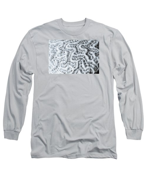 Dead Brain Coral Long Sleeve T-Shirt by Perry Van Munster