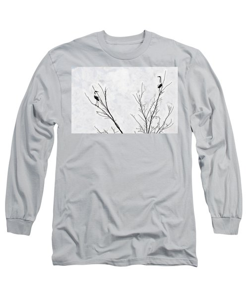 Dead Creek Cranes Long Sleeve T-Shirt