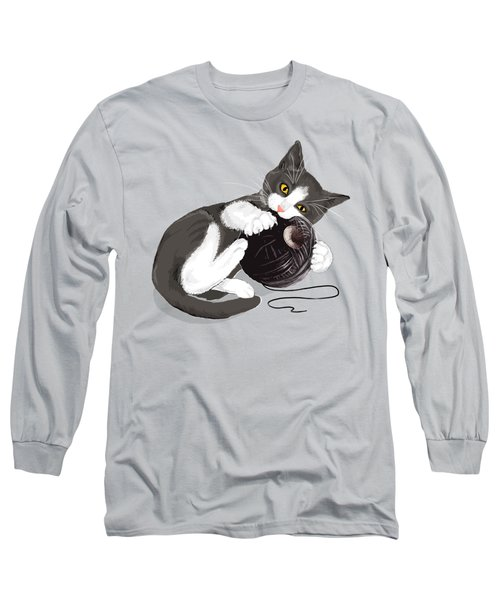 Death Star Kitty Long Sleeve T-Shirt