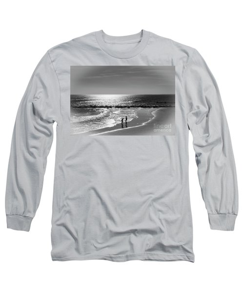 December At The Jersey Shore Long Sleeve T-Shirt