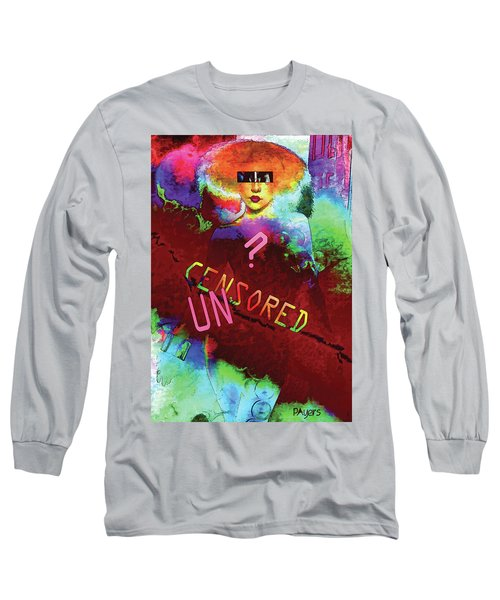 Long Sleeve T-Shirt featuring the digital art Decisions No. 2 by Paula Ayers