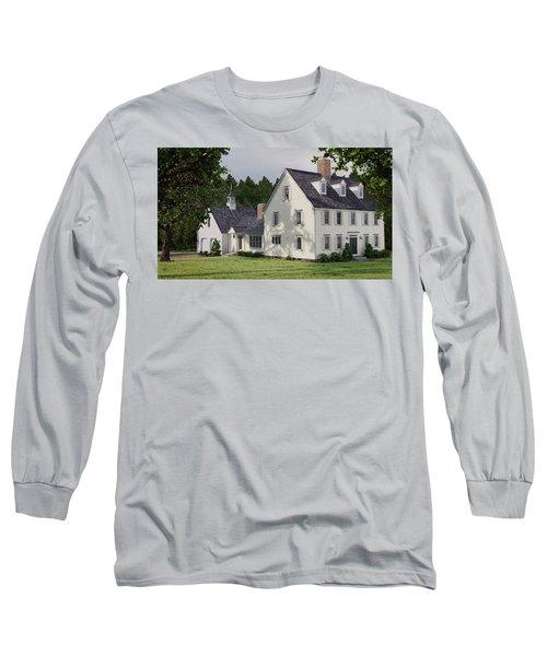 Deerfield Colonial House Long Sleeve T-Shirt