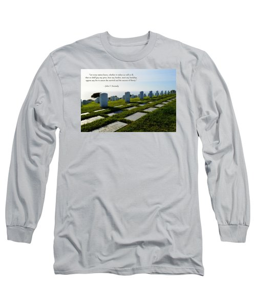 Long Sleeve T-Shirt featuring the photograph Defending Liberty by Glenn McCarthy Art and Photography