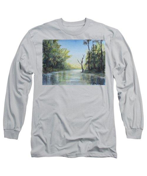 Delaware River  Long Sleeve T-Shirt