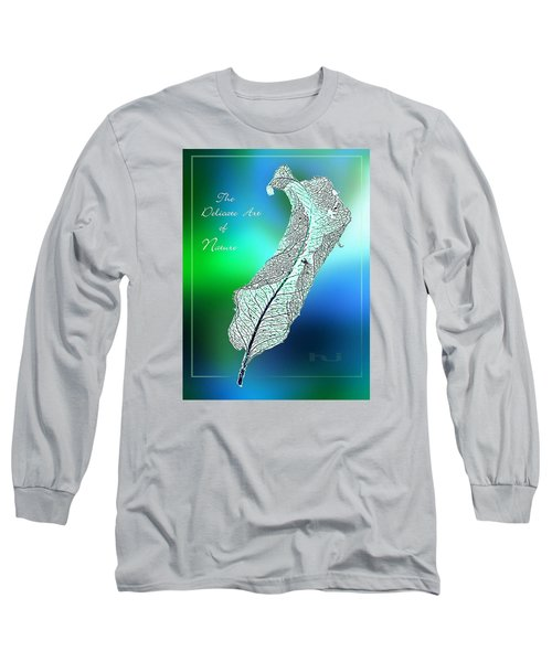 Delicate  Art Long Sleeve T-Shirt by Hartmut Jager