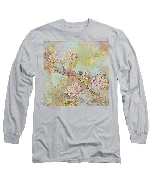 Delicate Magnolias Long Sleeve T-Shirt