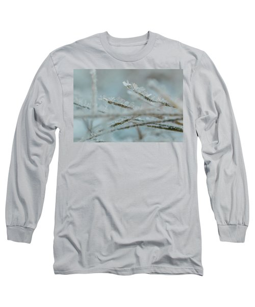 Delicate Morning Frost  Long Sleeve T-Shirt