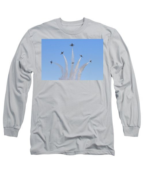 Delta Burst Long Sleeve T-Shirt