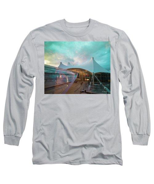 Denver International Airport Long Sleeve T-Shirt