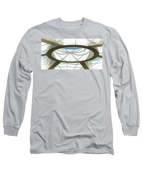 Departing San Diego's Web Long Sleeve T-Shirt