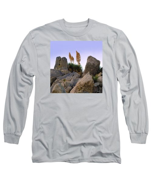 Desert Flags - Cropped Version Long Sleeve T-Shirt