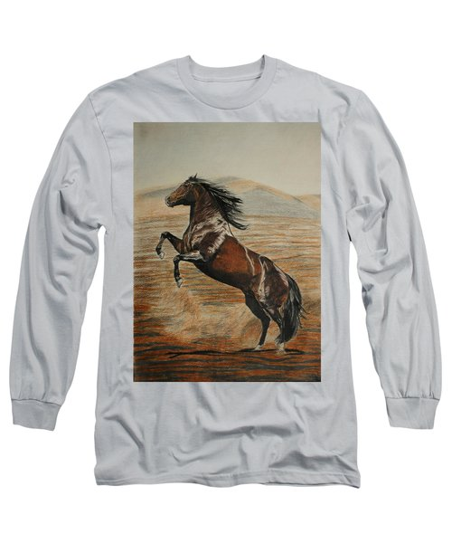 Desert Horse Long Sleeve T-Shirt