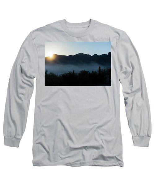 Desert Inversion Sunrise Long Sleeve T-Shirt