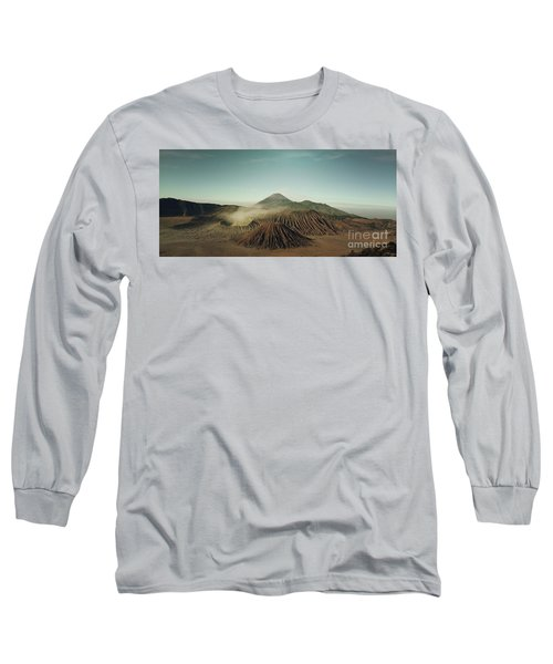 Long Sleeve T-Shirt featuring the photograph Desert Mountain  by MGL Meiklejohn Graphics Licensing