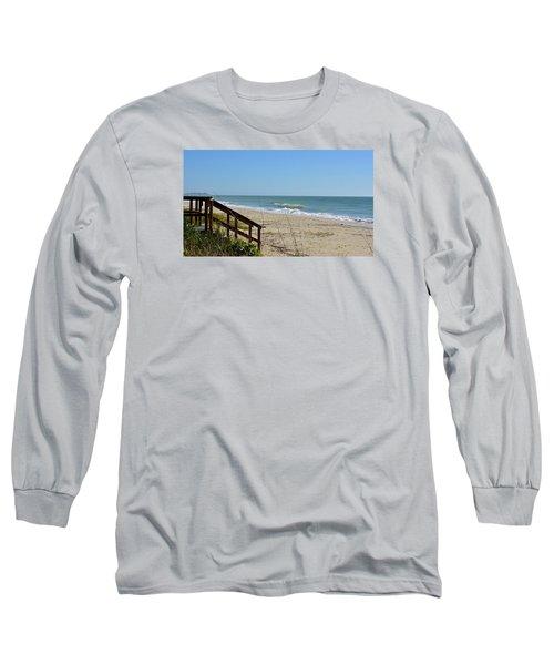 Deserted Long Sleeve T-Shirt by Carol Bradley