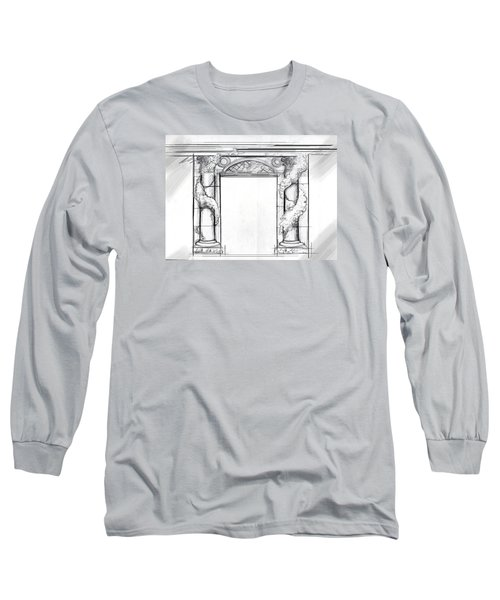 Design For Trompe L'oeil Long Sleeve T-Shirt