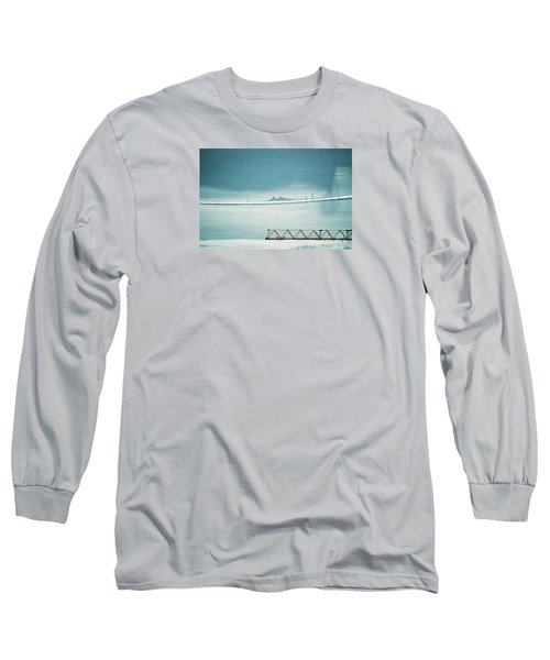 Long Sleeve T-Shirt featuring the photograph Designs And Lines - Winter In Switzerland by Susanne Van Hulst