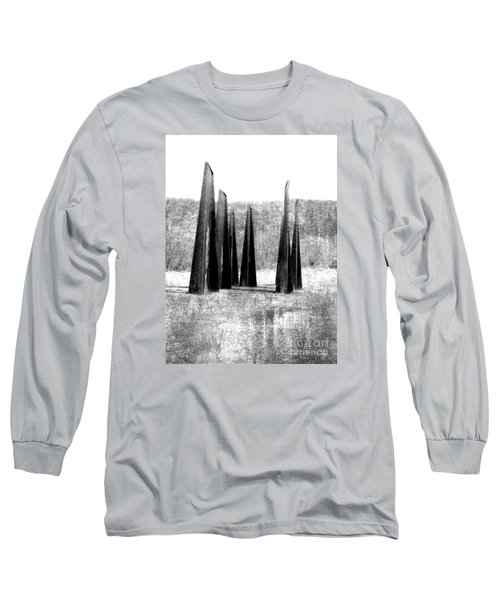 Designs Of The Future Long Sleeve T-Shirt by Marcia Lee Jones