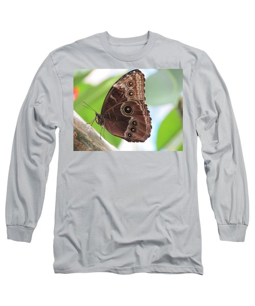 Detailed Wings Long Sleeve T-Shirt