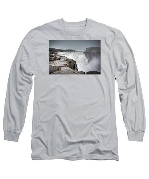 Dettifoss Long Sleeve T-Shirt by Brad Grove
