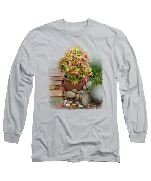 Dew On Leaves Long Sleeve T-Shirt