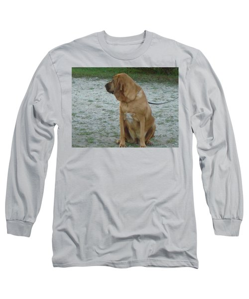 Did You Hear That? Long Sleeve T-Shirt by Val Oconnor