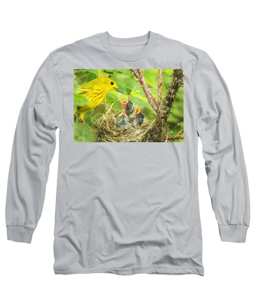 Dinner At The Warblers Long Sleeve T-Shirt