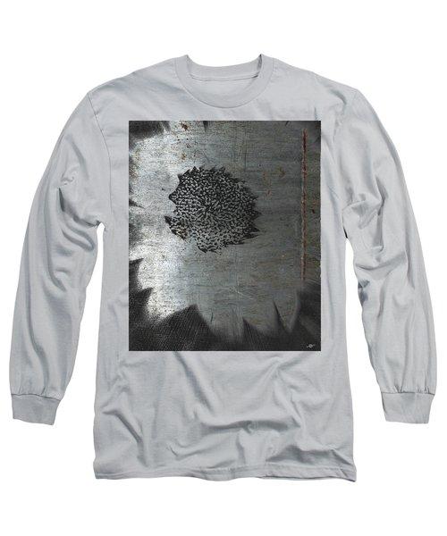 Dirty Silver Sunflower Long Sleeve T-Shirt