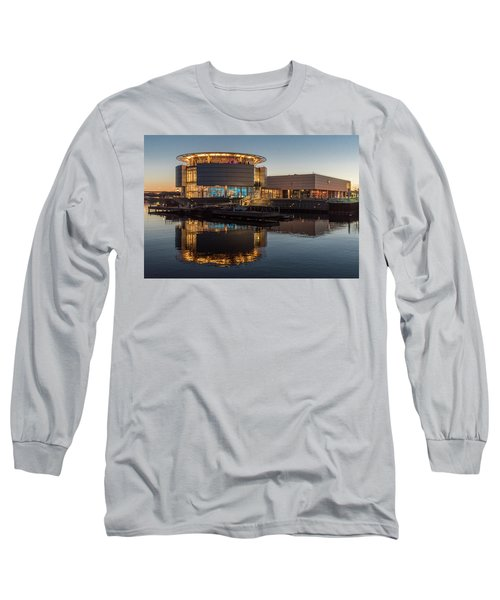 Long Sleeve T-Shirt featuring the photograph Discovery World by Randy Scherkenbach