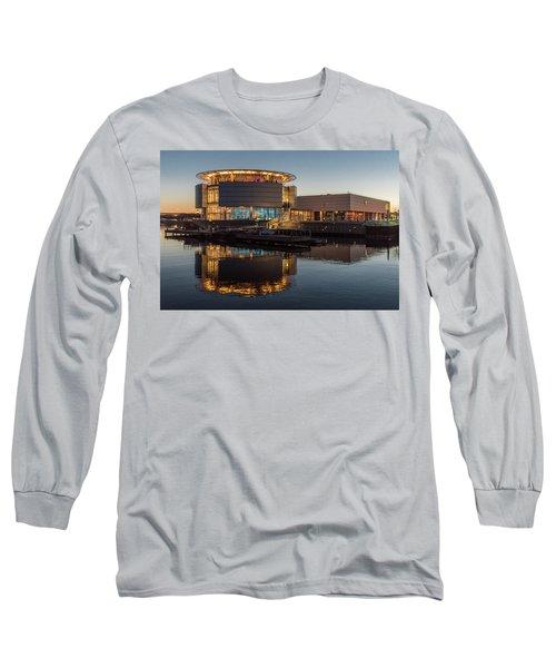 Discovery World Long Sleeve T-Shirt by Randy Scherkenbach