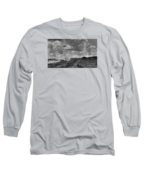 Distant Mountains The Badlands Long Sleeve T-Shirt
