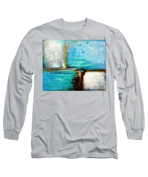 Long Sleeve T-Shirt featuring the painting Divided Loyalties by Suzanne McKee
