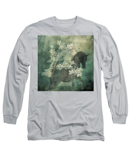 Divine Horse Whisperer Long Sleeve T-Shirt