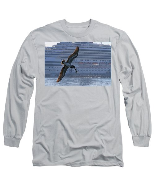 Diving For Breakfast Long Sleeve T-Shirt