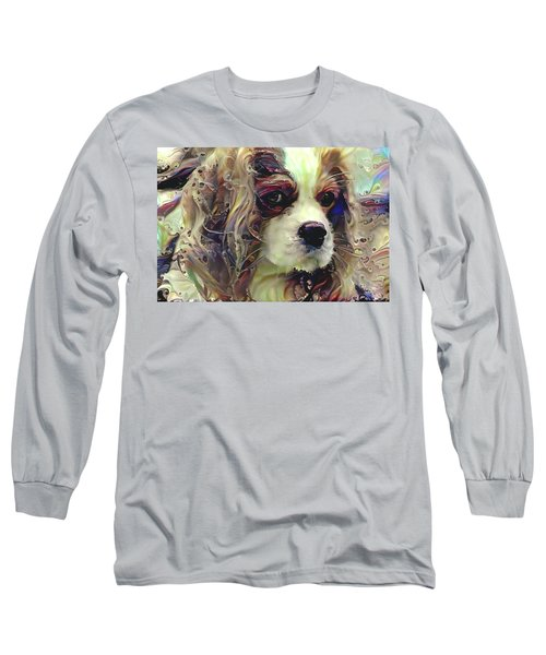 Dixie The King Charles Spaniel Long Sleeve T-Shirt