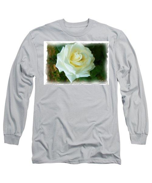 Long Sleeve T-Shirt featuring the photograph Do-00300 La Rose De Aaraya by Digital Oil