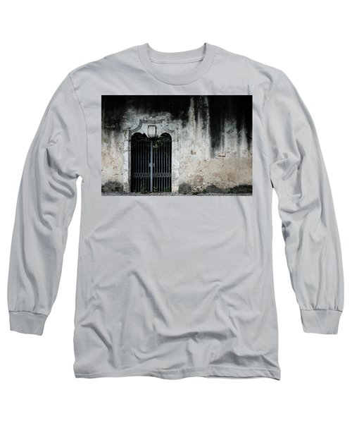 Long Sleeve T-Shirt featuring the photograph Do Not Enter by Marco Oliveira