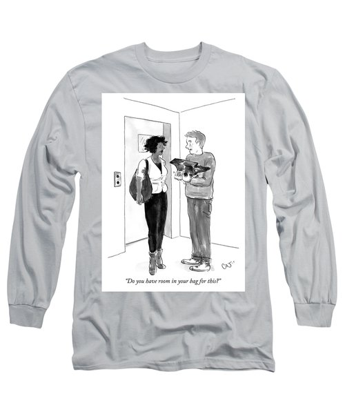 Do You Have Room In Your Bag For This Long Sleeve T-Shirt