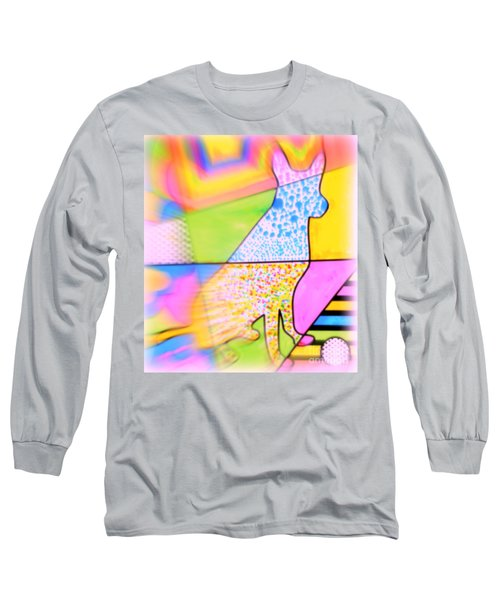 Dog Long Sleeve T-Shirt by Wbk