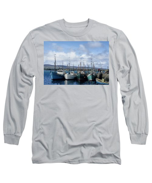 Donegal Fishing Port Long Sleeve T-Shirt