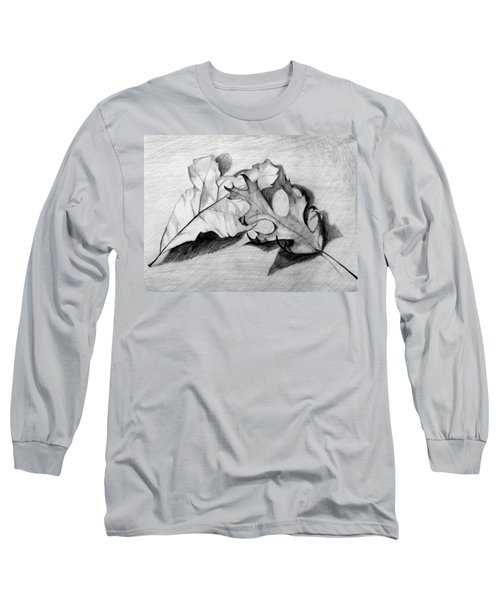 Don't Leaf Me Long Sleeve T-Shirt by Jean Haynes