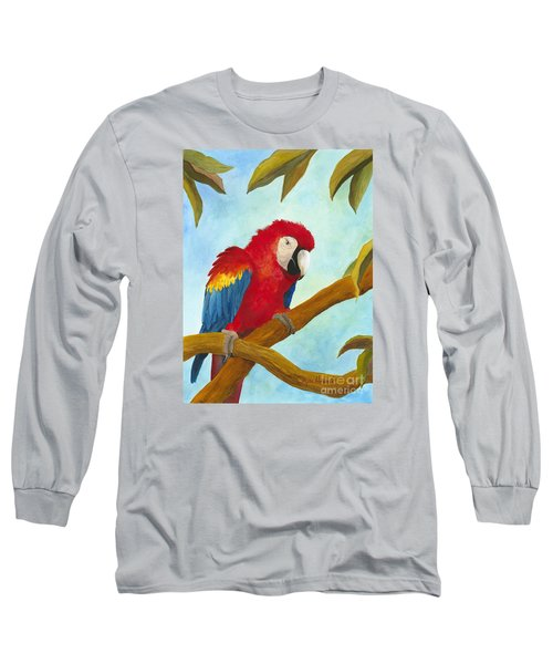 Dont Ruffle My Feathers Long Sleeve T-Shirt by Phyllis Howard
