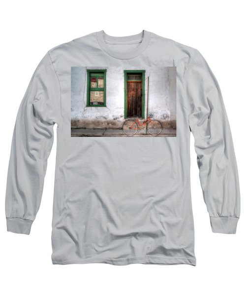 Door 345 Long Sleeve T-Shirt by Lynn Geoffroy