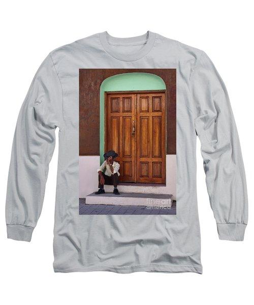 Door In Guatemala Long Sleeve T-Shirt