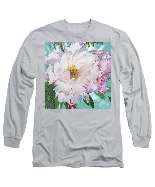 Double Peony Long Sleeve T-Shirt