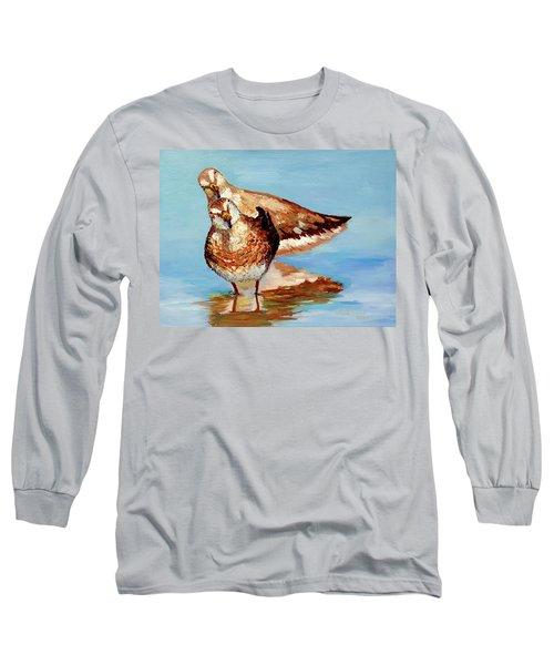 Dowitcher Birds Long Sleeve T-Shirt
