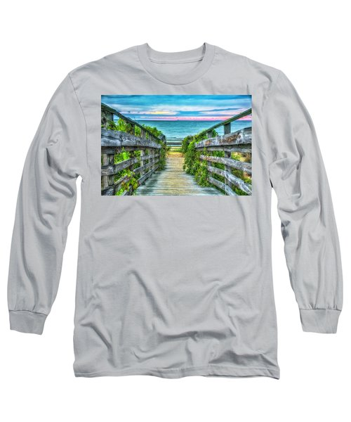 Down To The Beach Long Sleeve T-Shirt