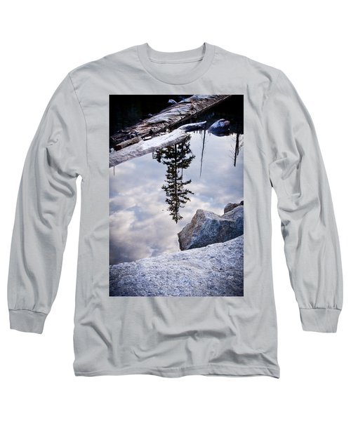 Downside Up Long Sleeve T-Shirt
