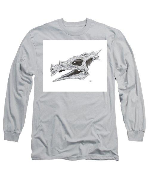 Dracorex Hogwartsia Skull Long Sleeve T-Shirt